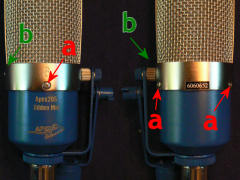 Ribbon mic mod - screw locations