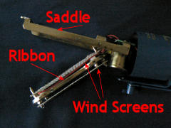 Ribbon mic mod - ribbon motor